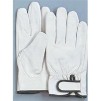 おたふく手袋 豚革クレスト 内綿タイプ M 1セット(10双入) (直送品)