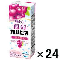 味わう葡萄&「カルピス」250ml