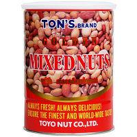 【ビッグサイズ】東洋ナッツ TON'S ゴールデンミックスナッツ 1缶