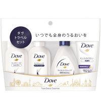 ダヴ(Dove) シャンプー&コンディショナー(各30g)&ボディウォッシュ(45g)&洗顔料(20g) トラベルセット ユニリーバ