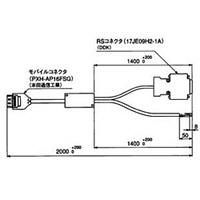 シチズンセイミツ デジメトロン RS+I/Oケーブル IPD-SC1-IF2 1本 (直送品)