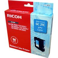 リコー インクジェットカートリッジ GC21C シアン 515628