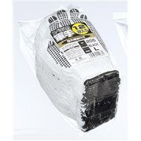 おたふく手袋 スベリ止手袋 12双組 ブラック L 205 1セット(120双:12双×10ダース)(直送品)