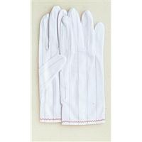 おたふく手袋 制電手袋マチ付 LL 1セット(10双入) (直送品)