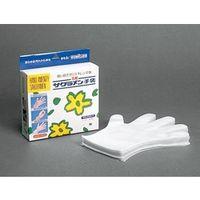 精宏 サクラメン手袋 デラックス エンボス 白 M 100枚化粧箱入 1セット(100枚×3組入) (直送品)