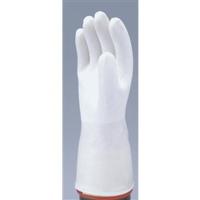 三重化学工業 パイル・ミット Lサイズ ホワイト PILE-W-L 1セット(5双)(直送品)