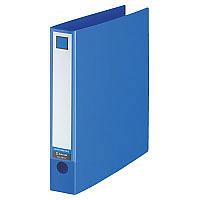 キングジム レバーリングファイル A4タテ 青 スーパー業務用パック 1パック(30冊入) 3673