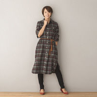 WEB限定商品 シャツワンピース L