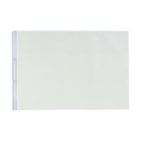 リヒトラブ PPクリヤーポケット(E型)A3ヨコ N2018 1箱(100枚:10枚入×10袋)