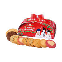 ステラおばさんのクッキー クリスマスリボンボックス 1個 アントステラ