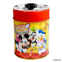 クリスマス フェイス缶(ミッキー) 1個