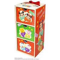 クリスマス 3段お菓子ボックス(ディズニー ツムツム) 1個 スイートプラザ
