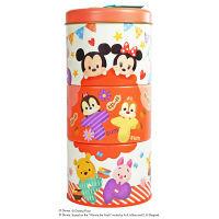 クリスマス 3段お菓子缶(ディズニー ツムツム) 1個 スイートプラザ