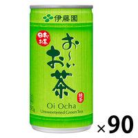 伊藤園 おーいお茶 190g 1セット(90缶:30缶入×3箱)