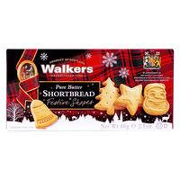 ウォーカー フェスティブシェイプショートブレッド クリスマス 1個