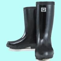 おたふく手袋 軽半ゴム長靴 24.0cm 1足 (直送品)