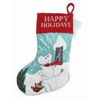 クリスマス ムーミン ファブリックソックス 1個 西本貿易