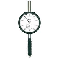 テクロック 0.01mm目盛長ストロークダイヤルゲージ KM-121PW 1個 (直送品)