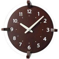 【アウトレット】ノア精密 rimlex ウォールクロック:Blunt (ブラント) 掛時計 1個 BR W-693 BR-Z