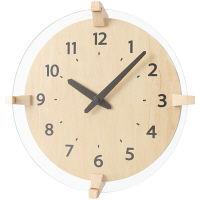 【アウトレット】ノア精密 rimlex ウォールクロック:Blunt (ブラント) 掛時計 1個 N W-693 N-Z