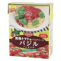 富士貿易 キアーラ ノンオイルパスタソース バジル 390g 1個