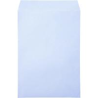 ムトウユニパック ナチュラルカラー封筒 角2(A4) アクア テープ付 100枚