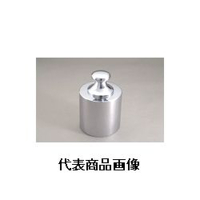 新光電子 基準分銅型円筒分銅(黄銅クロムメッキ) M2CBB-1K 1個 (直送品)