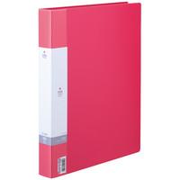 リヒトラブ リクエスト 名刺帳 500名用 赤 ヨコ入れ G8802-3 1セット(3冊:1冊×3)