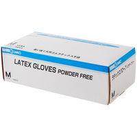 ラテックスグローブ パウダーフリー(M) 240930 三興化学工業 (使い捨て手袋)