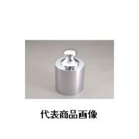 新光電子 JISマーク付基準分銅型円筒分銅(黄銅クロムメッキ) F2CBB-5GJ 1個 (直送品)
