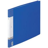 リヒトラブ リクエスト クリヤーブック A3ヨコ 20ポケット 青 1箱(24冊:6冊入×4箱)