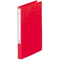 パンチレスファイル A4タテ 10冊 リヒトラブ HEAVY DUTY 赤 F367-1