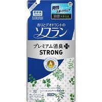 香りソフラン プレミアム消臭プラスSTRONG 詰め替え 450ml 1個 柔軟剤 ライオン