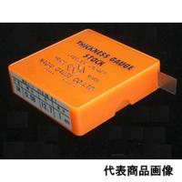 永井ゲージ製作所 ゲージ鋼(SK)フィラーゲージ 焼入品 0.08×12.7×2m 1個 (直送品)