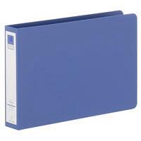 リヒトラブ リングファイル A5 背幅36mm タテ158×横238mm 青 スーパー業務用パック 1パック(30冊入)