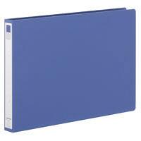 リヒトラブ リングファイル B4 背幅36mm タテ267×横392mm 青 スーパー業務用パック 1パック(30冊入)