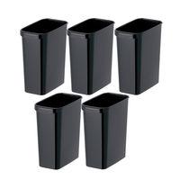くず入れ 角型ゴミ箱13L 5個セット