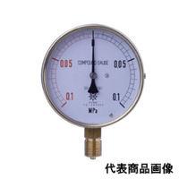 第一計器製作所 HNT汎用圧力計 AT R3/8 75×0.6MPA 1台 (直送品)