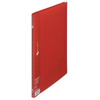 プラス スーパーエコノミークリアーファイル A4タテ 10ポケット レッド FC-121EL 88412 1セット(30冊入)