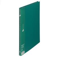 プラス スーパーエコノミークリアーファイル A4タテ 20ポケット グリーン FC-122EL 88423 1セット(30冊)