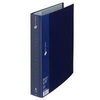 プラス スーパーエコノミークリアーファイル A4タテ 80ポケット ネイビー FC-128EL 88451 1セット(30冊)