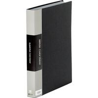 キングジム クリアーファイルカラーベース A4タテ60ポケット 307×242×35mm 黒 スーパー業務用パック 1パック(30冊入)
