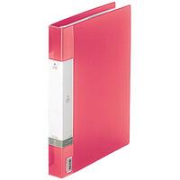 クリヤーブック 差し替え式 30穴 A4タテ 25ポケット 背幅3.5cm 12冊 赤 G3802-3 リヒトラブ