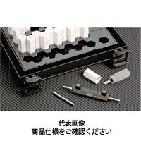 ドムコーポレーション サブミクロン精度ピンゲージセット(0.001とび) DT-03 0.297〜0.310 1台 (直送品)