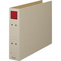 キングジム 保存ファイル(片開き) B4ヨコ とじ厚50mm 背幅65mm 赤 1セット(40冊:20冊入×2箱)