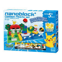 ナノブロック+ ポケモン ピカチュウセット (対象年齢:5歳以上) カワダ