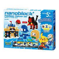 ナノブロック+ ポケモン デラックスセット (対象年齢:5歳以上) カワダ