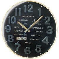 ノア精密 ウォールクロック:Pariperi (パリペリ) 掛時計 1個 W-691 BK