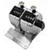ライン精機 台付連式数取器(2連) H-102M-2 1個 (直送品)