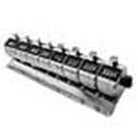ライン精機 台付連式数取器(8連) H-102M-8 1個 (直送品)